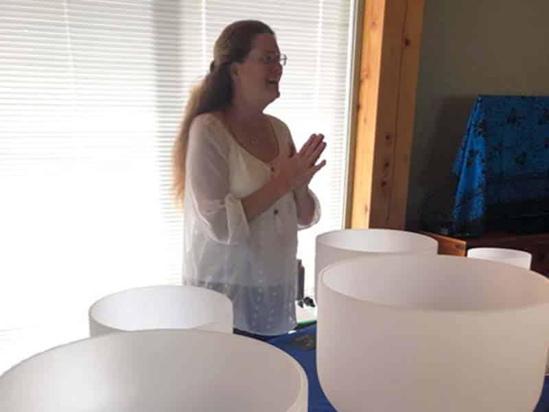 Crystal Singing Bowls and Meditative Sound Healing
