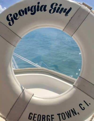 Georgia Girl Charters Life Raft