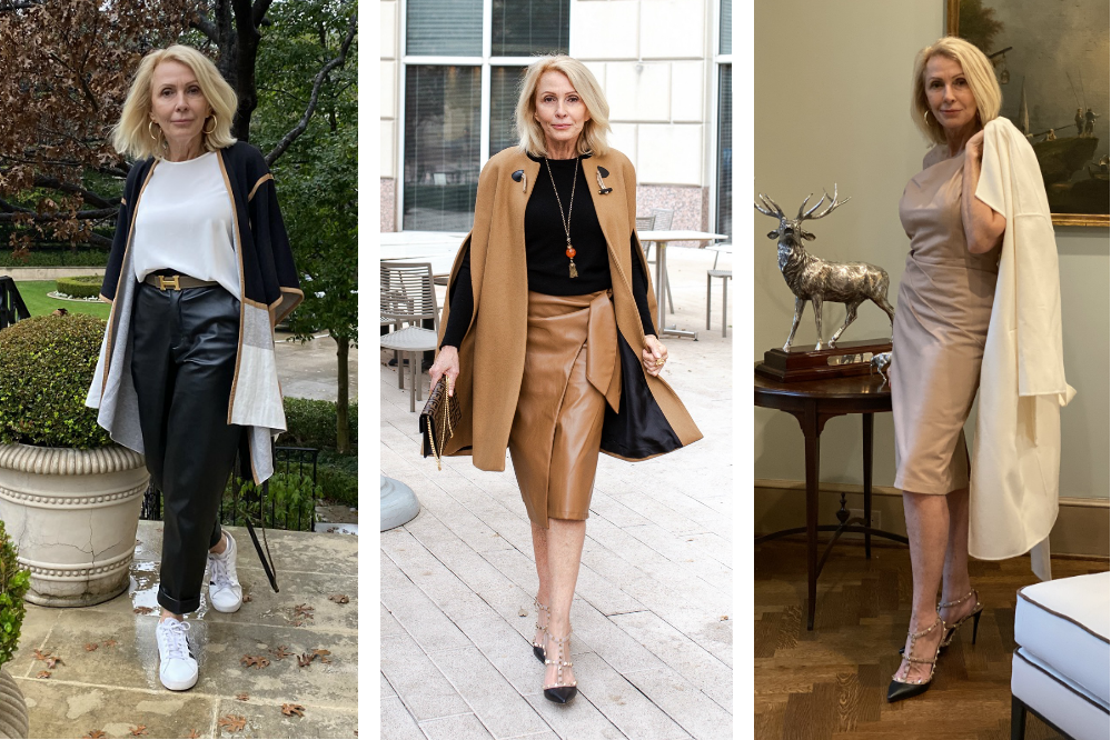 How to wear Faux Leather Women over 50 Style Beyond Age
