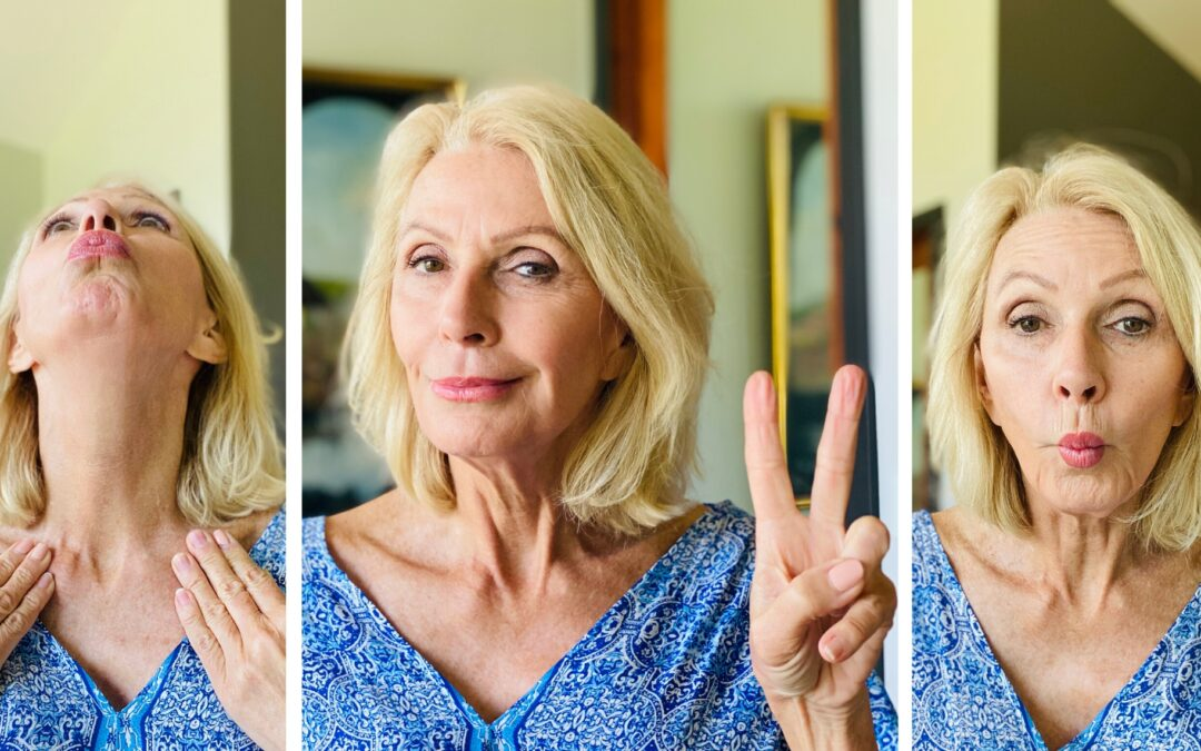 Style Beyond Age tries Face Yoga for Anti Aging