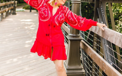 Light-Weight Summer Dressing with March11